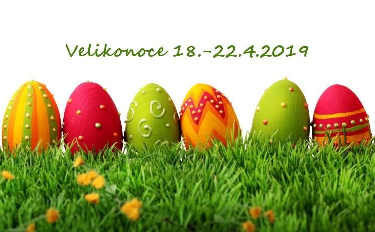 18.-22.4. slavíme Velikonoce