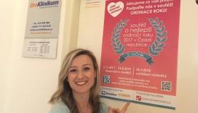 Zvítězili jsme v soutěži Ordinace roku 2017