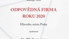 UroKlinikum získalo ocenění Odpovědná firma roku 2020